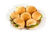 mini-hamburger